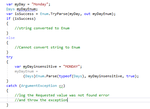 How to convert string to enum in C#